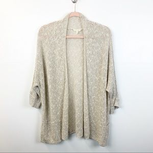 Elieen Fisher Linen/Cotton/Nylon Cardigan
